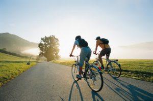 техника езды на велосипеде