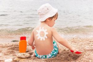 детские солнцезащитные средства