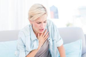 Симптомы и признаки ларингоспазма
