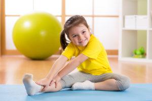 Уровень физической нагрузки для ребенка