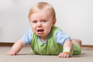 ребенок после падения