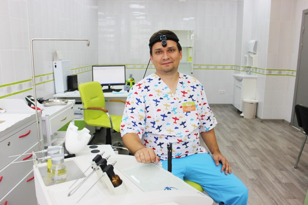Александр Конса - Отоларинголог. Любимый доктор
