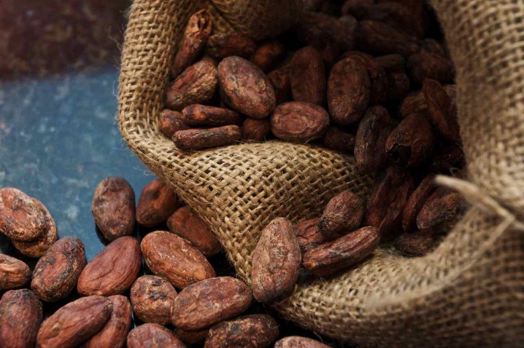 Шоколадные зерна