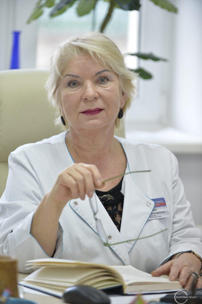 врач-онколог Ирина Косенко