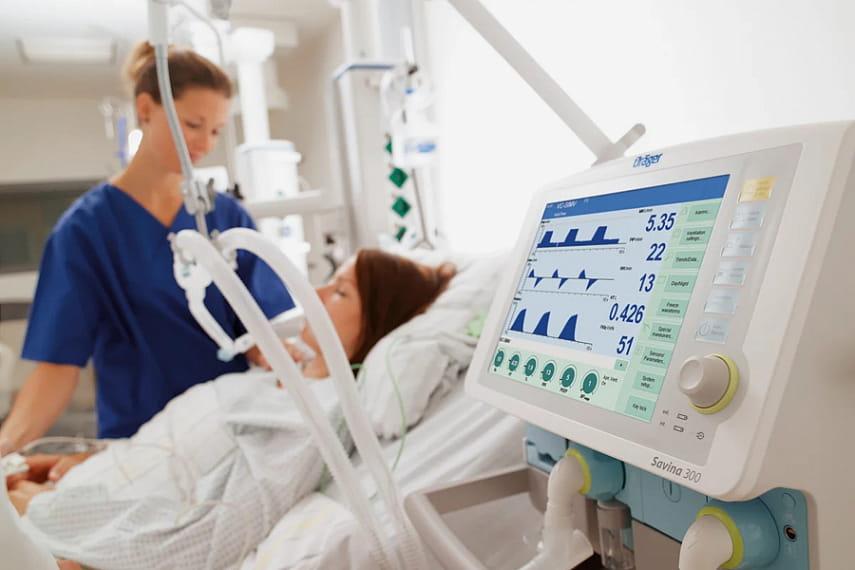 Аппарат ИВЛ - стресс после ИВЛ