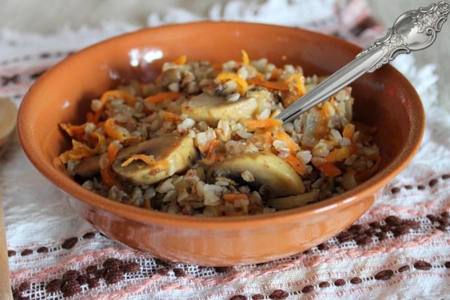 блюдо из гречки