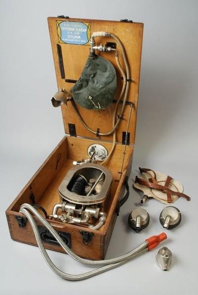 История аппарата ИВЛ - Как выглядели аппараты ИВЛ