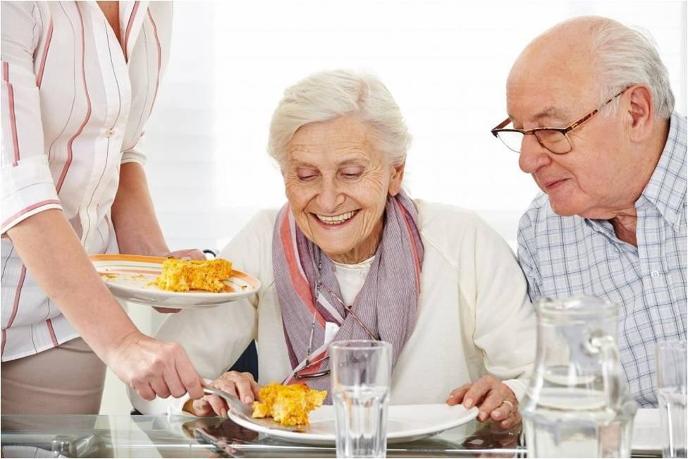 питание пожилых во время вируса
