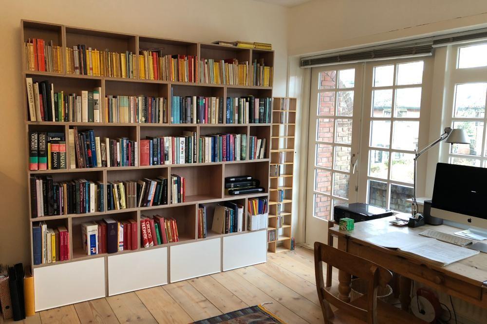 как расставить книги по местам