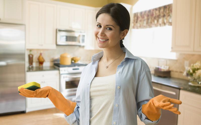 уборка в доме и на кухне по Мари Кондо
