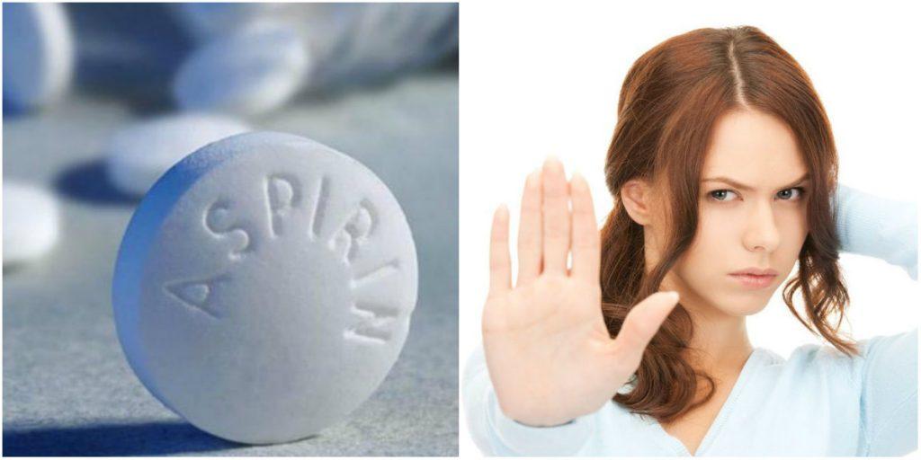 аспирин противопоказания