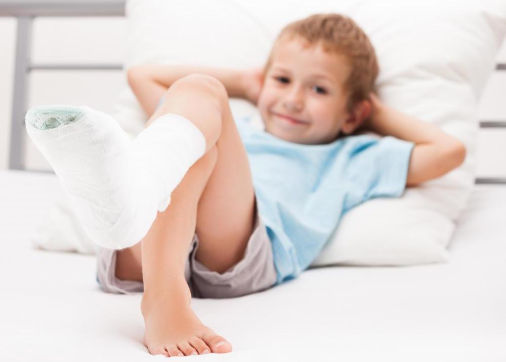 детские травмы и переломы