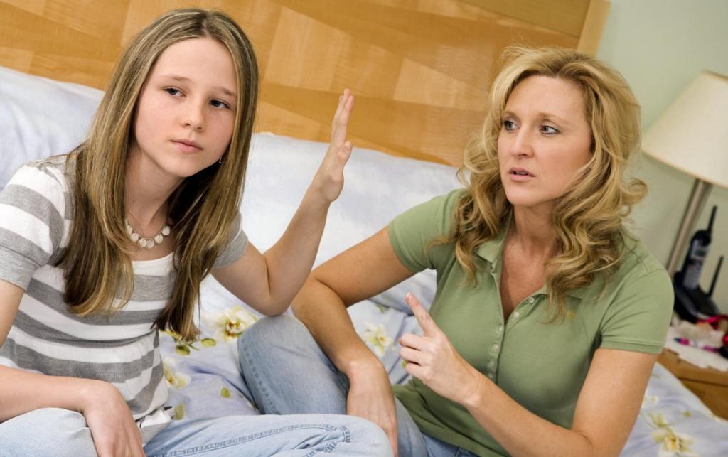подротски и родители