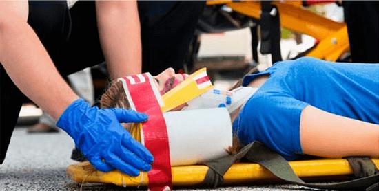 Первая помощь при переломе позвоночника