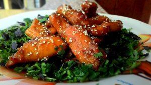 рецепт курицы в кунжуте