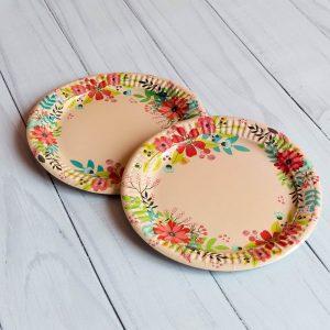 ламинированная бумажная посуда