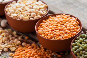 нут и фасоль