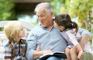 дед и внуки