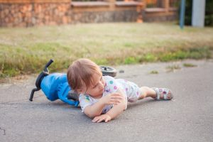 сотрясение у ребенка