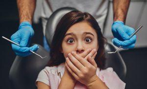 ребенок боится стоматолога