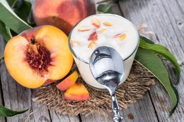 Мороженое с йогуртом, нектарином (персиком) - рецепт