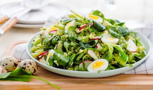 Салат из щавеля- рецепт