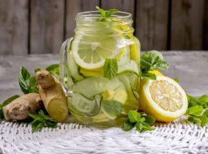 огуречно-имбирный лимонад