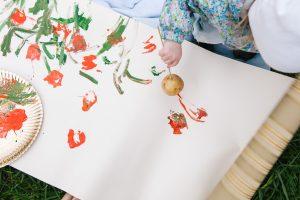 рисование отпечатками