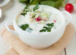 суп на айранге