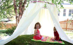 шатер на даче