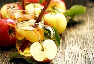 яблочный лимонад с корицей