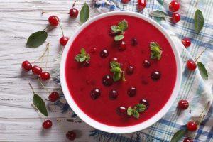ягодный суп