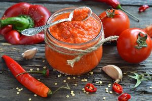 Домашний кетчуп с болгарским перцем