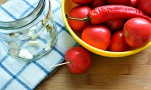 Консервированные сладко-острые помидоры